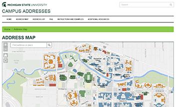 MSU Wayfinding - Interactive map msu